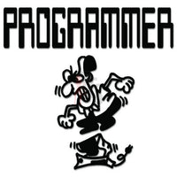 Programmer Computer Decal Sticker