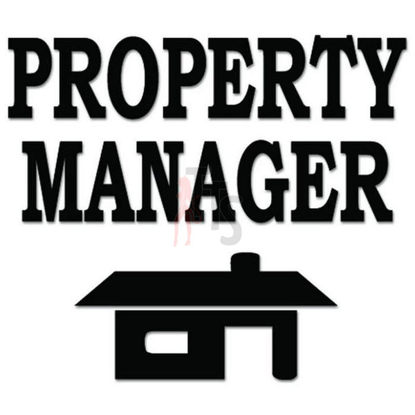 Property Manager Rental Decal Sticker