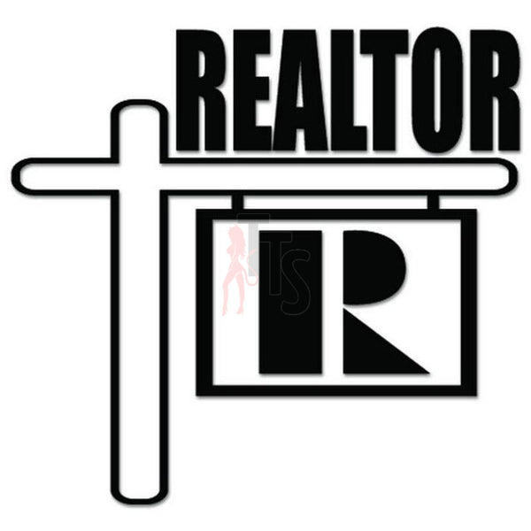 Realtor Real Estate Decal Sticker