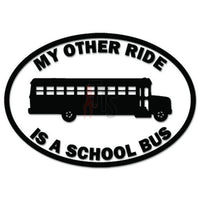 My Other Ride School Bus Decal Sticker