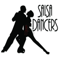 Salsa Dancers Dancing Decal Sticker