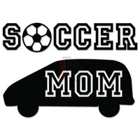 Soccer Mom Sport Decal Sticker Style 1