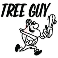 Tree Guy Cutter Decal Sticker