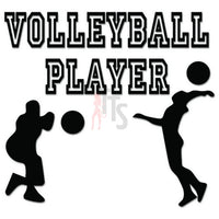Volleyball Player Sport Decal Sticker