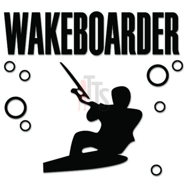Wakeboarder Decal Sticker