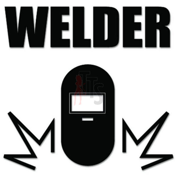 Welder Welding Decal Sticker