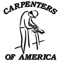 Carpenters of America Decal Sticker