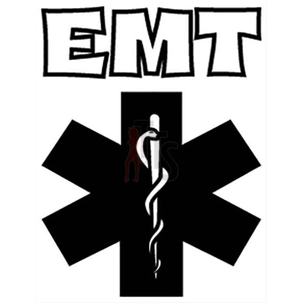 EMT Star of Life Decal Sticker