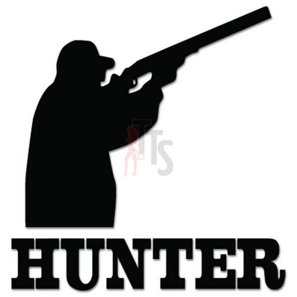 Hunter Hunting Decal Sticker