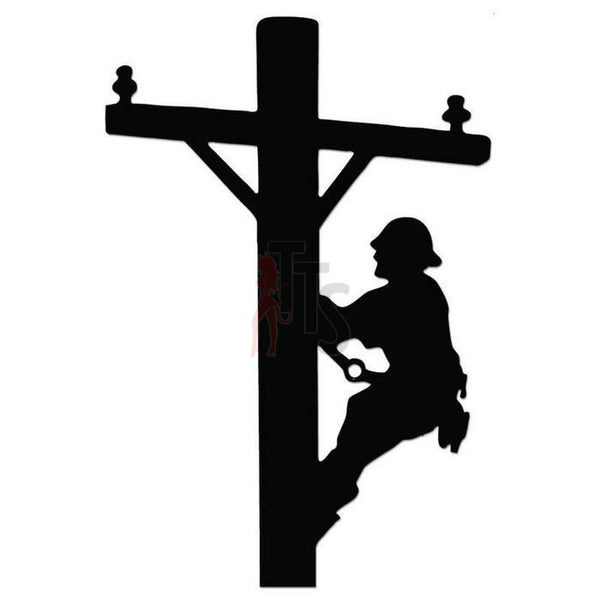 Electrician Lineman Decal Sticker