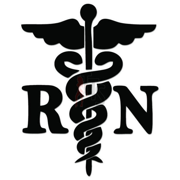 RN Nurse Medical Decal Sticker