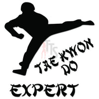 Tae Kwon Do Expert Martial Arts Decal Sticker
