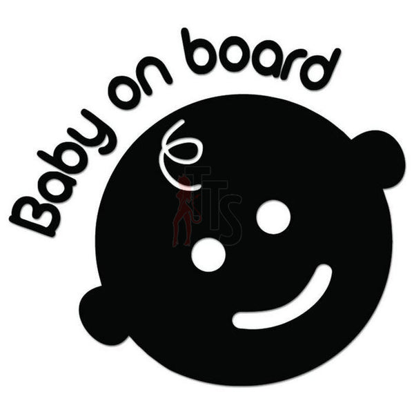 Baby On Board Decal Sticker Style 1