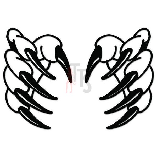 Claw Marks Ripped Decal Sticker Style 8