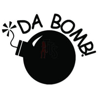 Da Bomb Decal Sticker