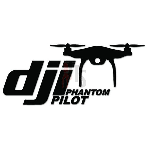 DJI Pilot Drone Decal Sticker Style 2