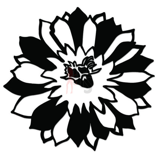 Sunflower Flower Decal Sticker