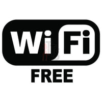 Free Wifi Logo Decal Sticker