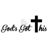 God's Got This Christian Decal Sticker