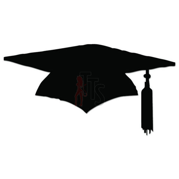 Graduation Cap High School College Decal Sticker