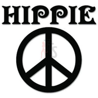 Peace Sign Hippie Decal Sticker