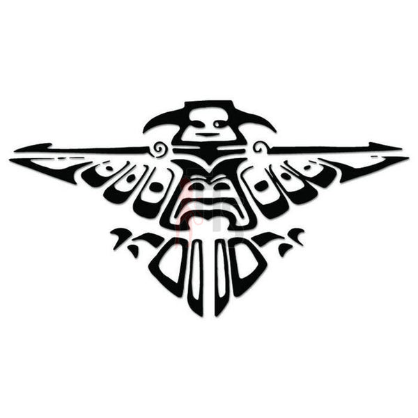 Indian Totem Eagle Bird Decal Sticker