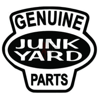 Genuine Junk Yard Parts Decal Sticker