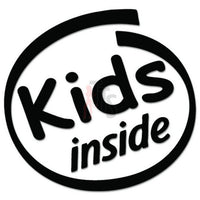 Kids Inside Decal Sticker Style 1