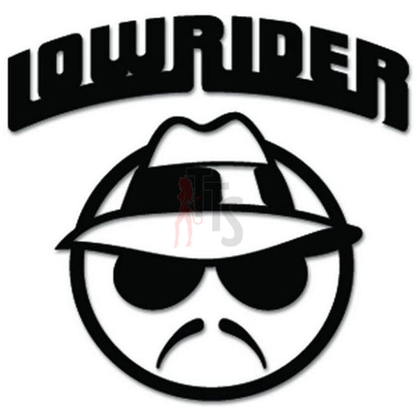 Lowrider Mexican Decal Sticker Style 1