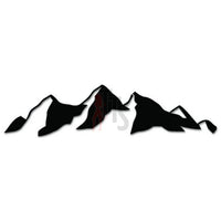 Mountain Outdoor Decal Sticker Style 3