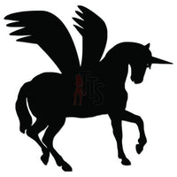 Pegasus Horse Decal Sticker Style 1