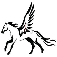 Pegasus Horse Decal Sticker Style 2