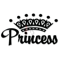Princess Crown Decal Sticker Style 1