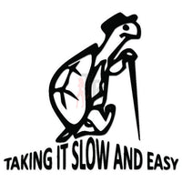 Slow and Easy Turtle Decal Sticker