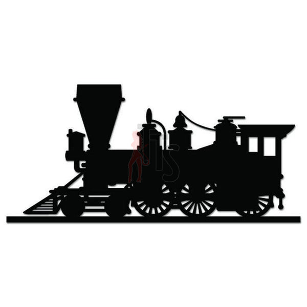 Train Locomotive Railroad Decal Sticker