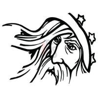 Wizard Fantasy Decal Sticker