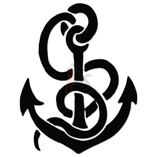 Anchor Sailor Ship Decal Sticker Style 1