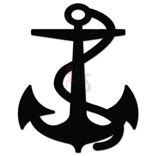 Anchor Sailor Ship Decal Sticker Style 3