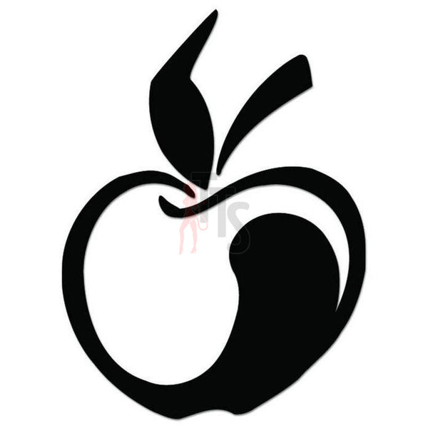 Apple Fruit Decal Sticker Style 1