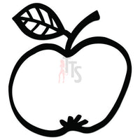Apple Fruit Decal Sticker Style 2