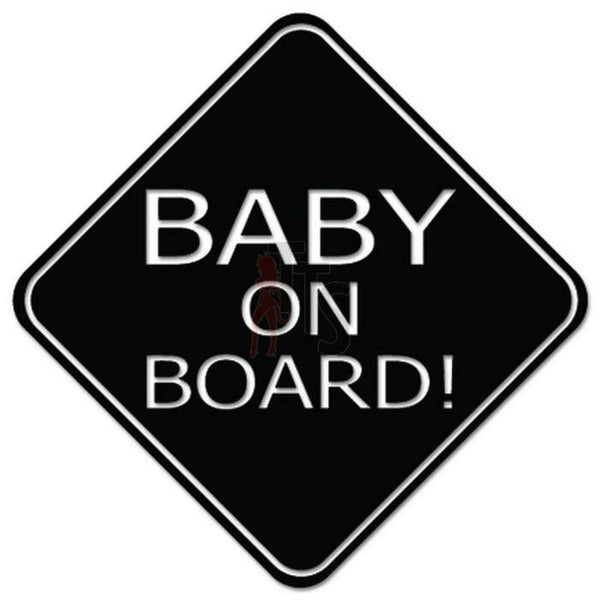 Baby On Board Decal Sticker Style 3