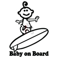 Baby On Board Decal Sticker Style 4