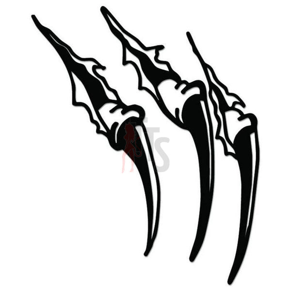 Claw Marks Ripped Decal Sticker Style 3
