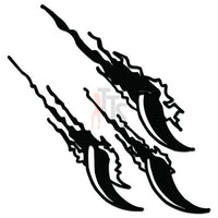 Claw Marks Ripped Decal Sticker Style 6