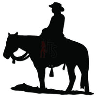 Cowboy Horse Decal Sticker