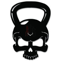 Skull Crossfit Training Decal Sticker