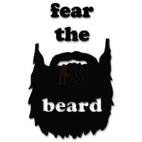 Fear the Beard Decal Sticker