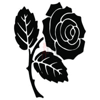 Rose Flower Decal Sticker Style 12