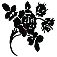 Rose Flower Decal Sticker Style 13