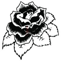 Rose Flower Decal Sticker Style 17